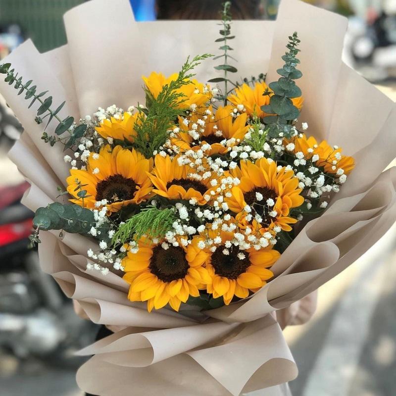 Hoa hướng dương truyền tải nhiều thông điệp ý nghĩa khác nhau