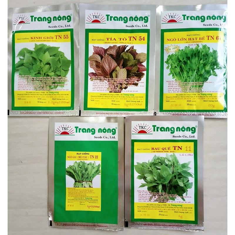 Mua hạt giống rau cần chú ý đến chất lượng và thời hạn sử dụng