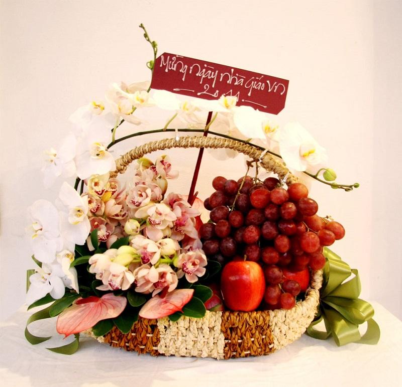 Nên lựa chọn giỏ trái cây phù hợp với từng ngày lễ khác nhau