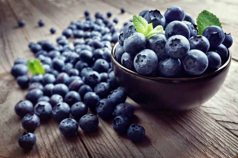 Quả việt quất chứa nhiều thành phần tốt cho sức khỏe