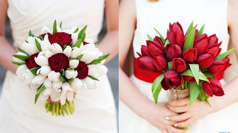 Tulip tượng trưng cho tình yêu chân thành, bền vững