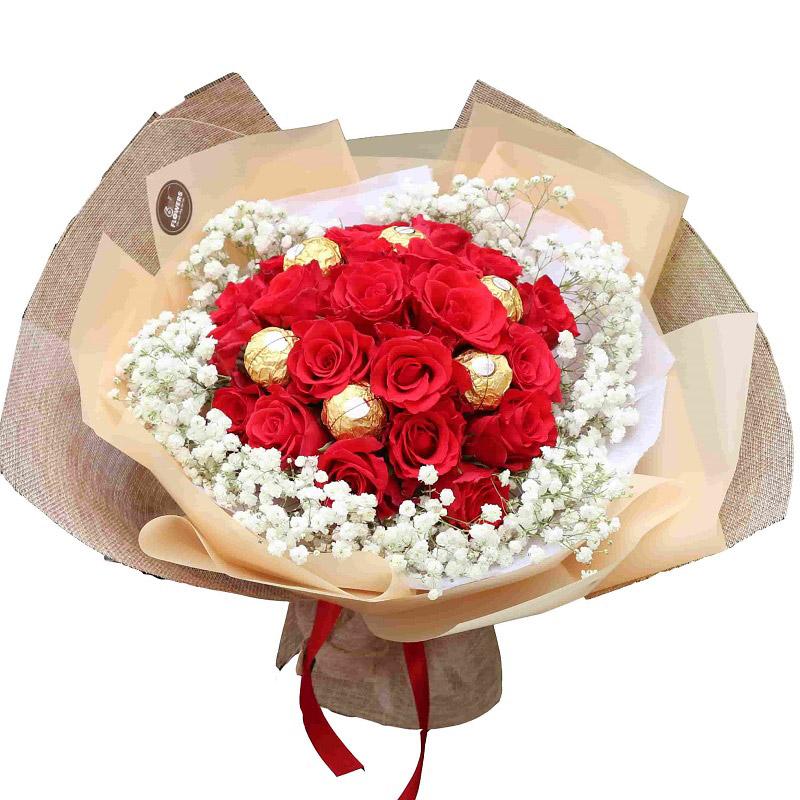 Vườn Mặt Trời luôn mang đến cho khách hàng những bó hoa tươi đẹp nhất