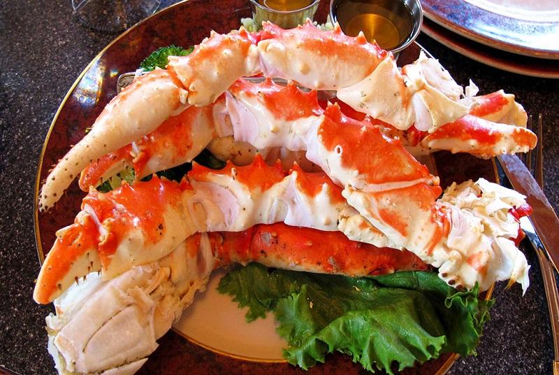 Chế biến món ngon từ cua King Crab