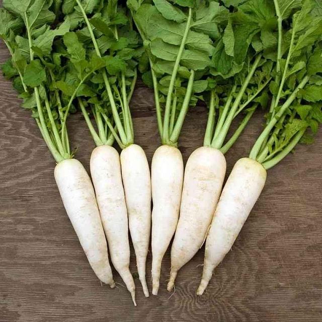 Củ Cải Trắng chứa hàm lượng dưỡng chất lớn với nhiều công dụng tốt